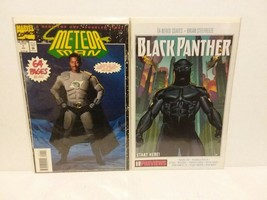 METEOR MAN - OFFICIAL MOVIE ADAPTATION + BLACK PANTHER #1  - FREE SHIPPING - $11.30