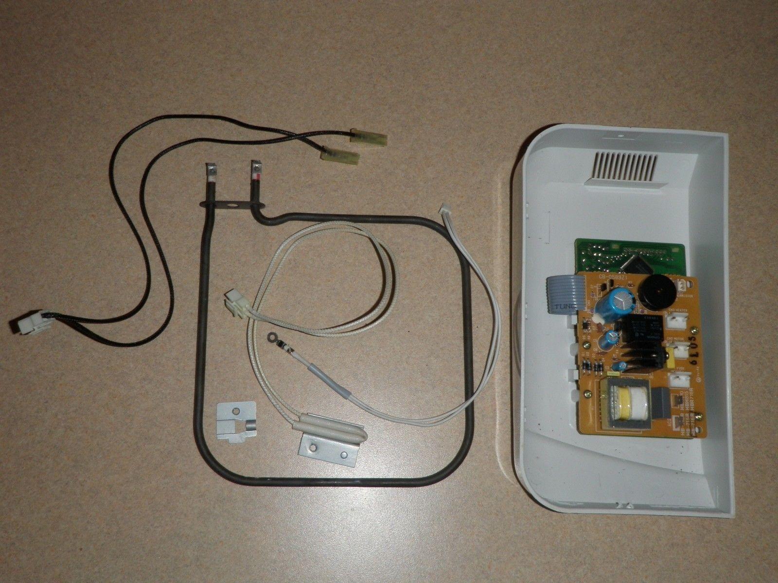 Regal bread machine Control Panel & Board + Fuse + Sensor + Element K6743