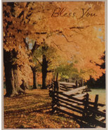 "Greeting Card Thanksgiving ""Bless You"" - $1.50"