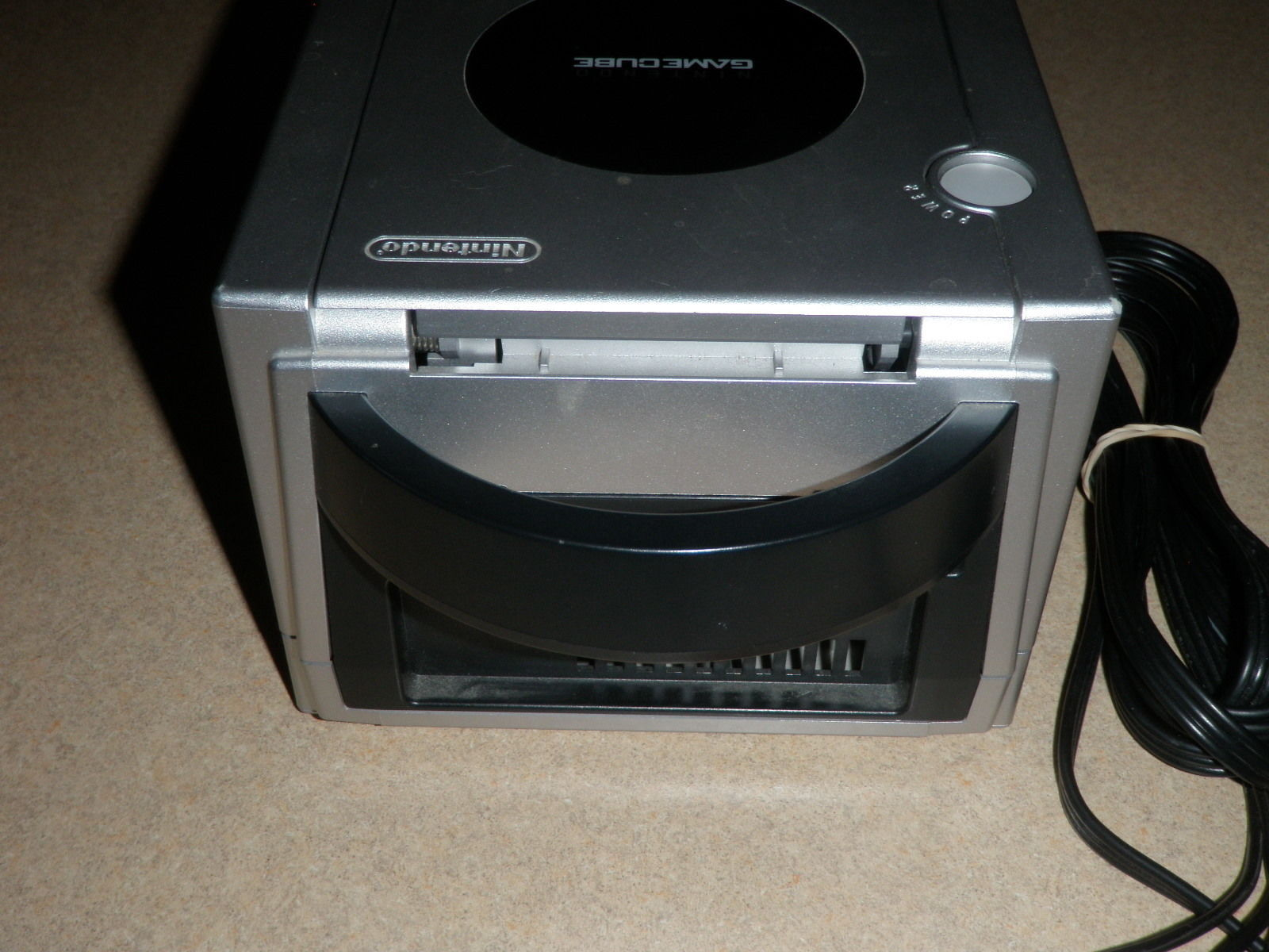 Nintendo GameCube Silver Console DOL-101 USA  TESTED WORKS