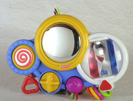 2003 Fisher Price crib toy - lots of color, sound and music.  TESTED & W... - $8.50