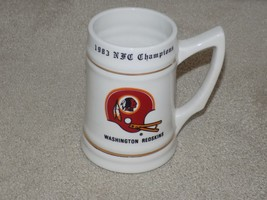 1983 Washington Redskins Football NFL Super Bowl 17 XVII champions Stein... - $14.84