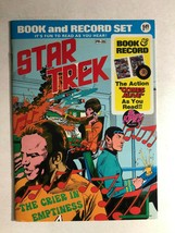 STAR TREK The Crier in Emptiness (1975) Power Records Book & Record VG+ - $14.84