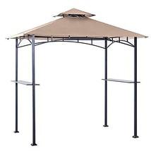 MASTERCANOPY Garden 8 x 5 Grill Gazebo Outdoor BBQ Gazebo Canopy Khaki - $172.11