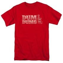 Dum-Dums T-shirt Worlds Best Pop retro candy classic lollipop tee DUM112 Red image 2