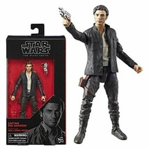 Star Wars The Black Series Poe Dameron 6-Inch Action Figure The Last Jed... - $12.86