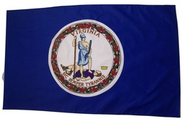 State of Virginia Flag 3' X 5' Indoor Outdoor State Banner - $9.95