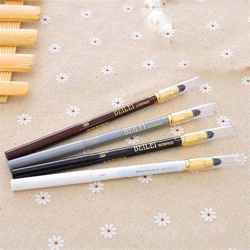 New Sponge Eyeliner Pencil Cosmetic Makeup Pen Eyeshadow Glitter 4color choose