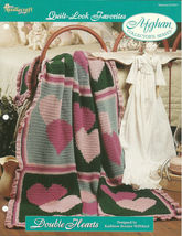 Needlecraft Shop Crochet Pattern 972041 Double Hearts Afghan Collectors ... - $4.99
