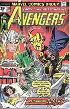 The Avengers Comic Book #139 Marvel Comics 1978 FINE - $8.79