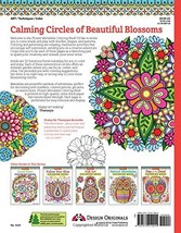 Book Flower Mandalas Coloring Is Fun Design Originals h1070 l830 w30 w56 - $14.79