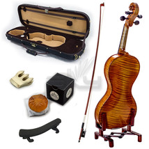 High Quality SKYVN671 Full Size Hand Carved Professional Artist Violin - $833.49