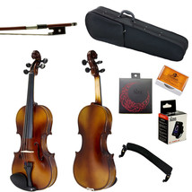 Summer SALE Paititi 1/2 Solid Wood Violin w Case One Bow Rosin Tuner - $77.59