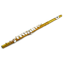 SKY Band Approved New C Foot Closed Hole Pink Flute w Gold Keys Free Extra - $149.99