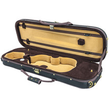 NEW Quality 4/4 Size Acoustic Violin Fiddle Case Black/Coffee/Khaki w/ S... - $74.44