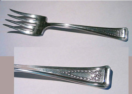 American Silver Co Silverplate Meat Fork Roanoke 1913  Neo Classical - V... - $13.95
