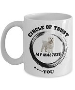 Maltese Mug - Maltese Coffee Mug - Maltese Dog Mug - Maltese Dad Mug - M... - $14.80