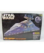 AMT STAR WARS STAR DESTROYER W/LIGHTS SYSTEM MODEL KIT NEW FIBER OPTICS - $79.19