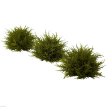Cedar Set of 3 Artificial Silk Plants by Nearly Natural 7.5 inches - $46.22