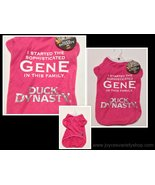 Pink Duck Dynasty Pet Shirt NWT Sz Large Family Gene  - $6.99