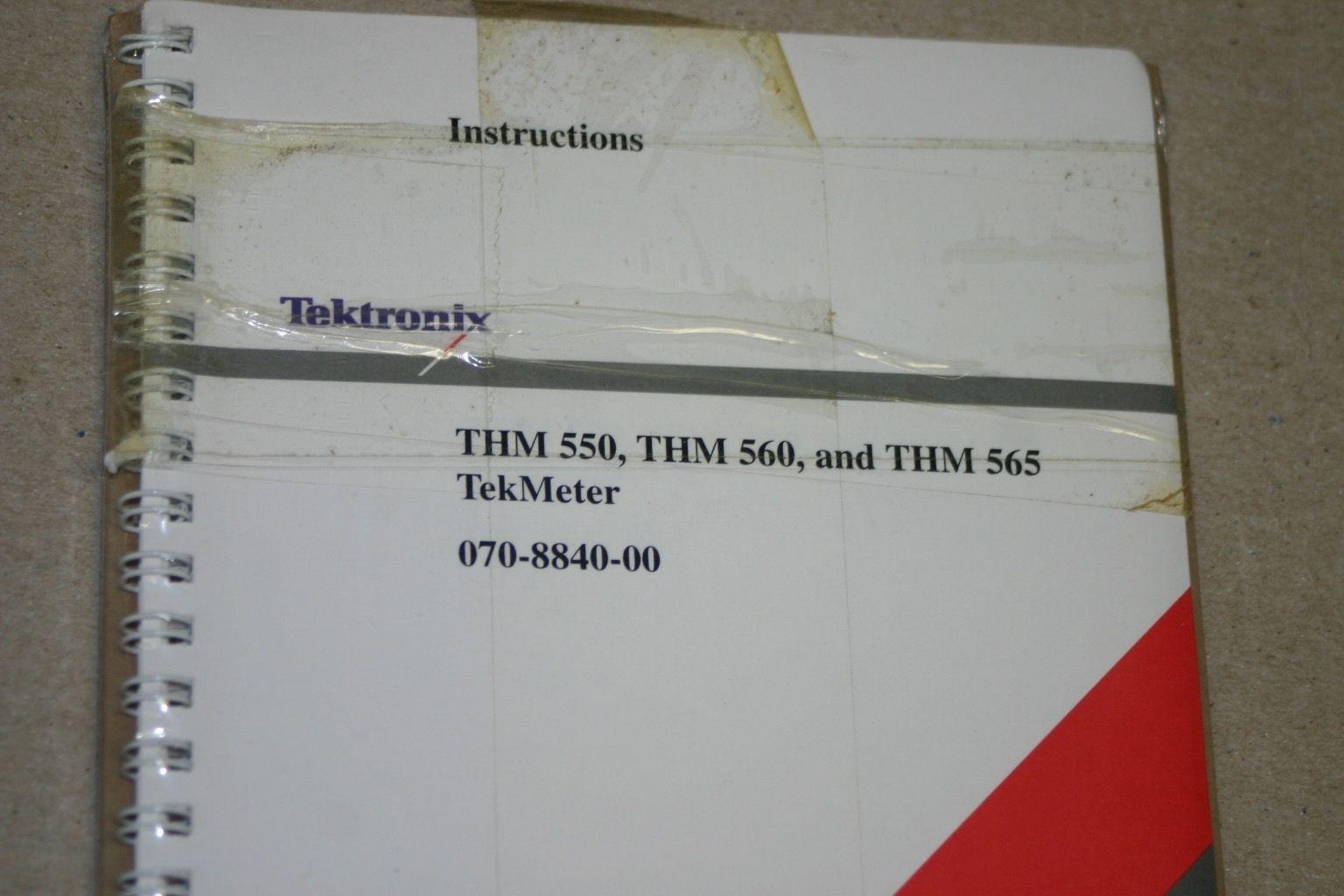 tek thm 550 thm 560 thm 565 tekmeter and 50 similar items rh bonanza com Tektronix Multimeter Tektronix Inc