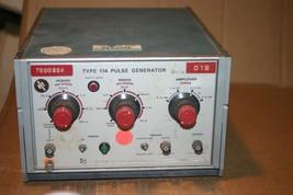 Tektronix Type 114 Pulse Generator - $149.95