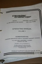 Canadair Challenger CL-600-2B16 Operating Manual Vol 1  PSP601A-6 601-3A/3R - $148.50