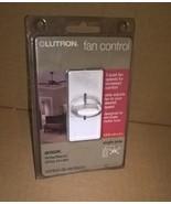 Lutron Skylark Single Pole Quiet Fan 3 - Speed Control SFSQ-FH-WH FREE S... - $14.99