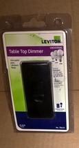 NEW Leviton Black Table Top Dimmer Switch TBL03 Light R15-TBL03-10E - $16.82