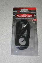 New Radioshack 6 Ft Audio Extension Cable 3.5MM Male to 3.5MM Female 42-... - $4.70