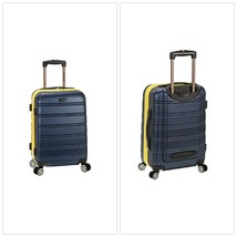 """20"""" Expandable ABS Carry On Spinner Luggage Wheeled Suitcase Lightweight... - $73.81"""