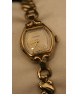 Very nice vintage 1940's Ladies' Swiss Buren Grand Prix gold dress wrist... - $75.00
