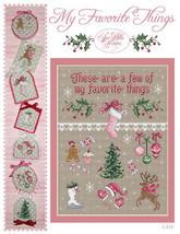 My Favorite Things cross stitch chart Sue Hillis Designs  - $9.00