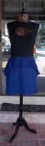 New Apple Bottom Sleeveless Cut Out Front Peplum Dress Sz. 1X - $32.66