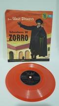 Walt Disney's Adventures of Zorro Little Golden Record 1950s 78 RPM - $14.99