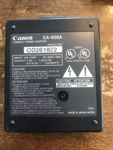 Canon CA-600A Battery Charger With Power Cord - $25.00