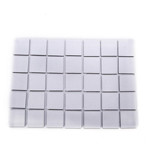 New Miniatures base Lot of 100 25mm Square Bases for war-games and table... - $11.68