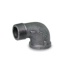 """BMSN0112 1-1/2"""" 90 DEGREE STREET MALLEABLE IRON FITTING FOR HIGH PRESSURE - $7.66"""