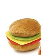 hamburger dog toy, dog toys, dog accessories, a... - $2.00