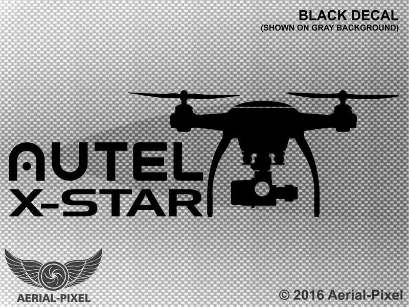 "DJI Phantom 3 Professional Quadcopter DRONE LIKE DECAL STICKER 5/"" x 2.75/"""
