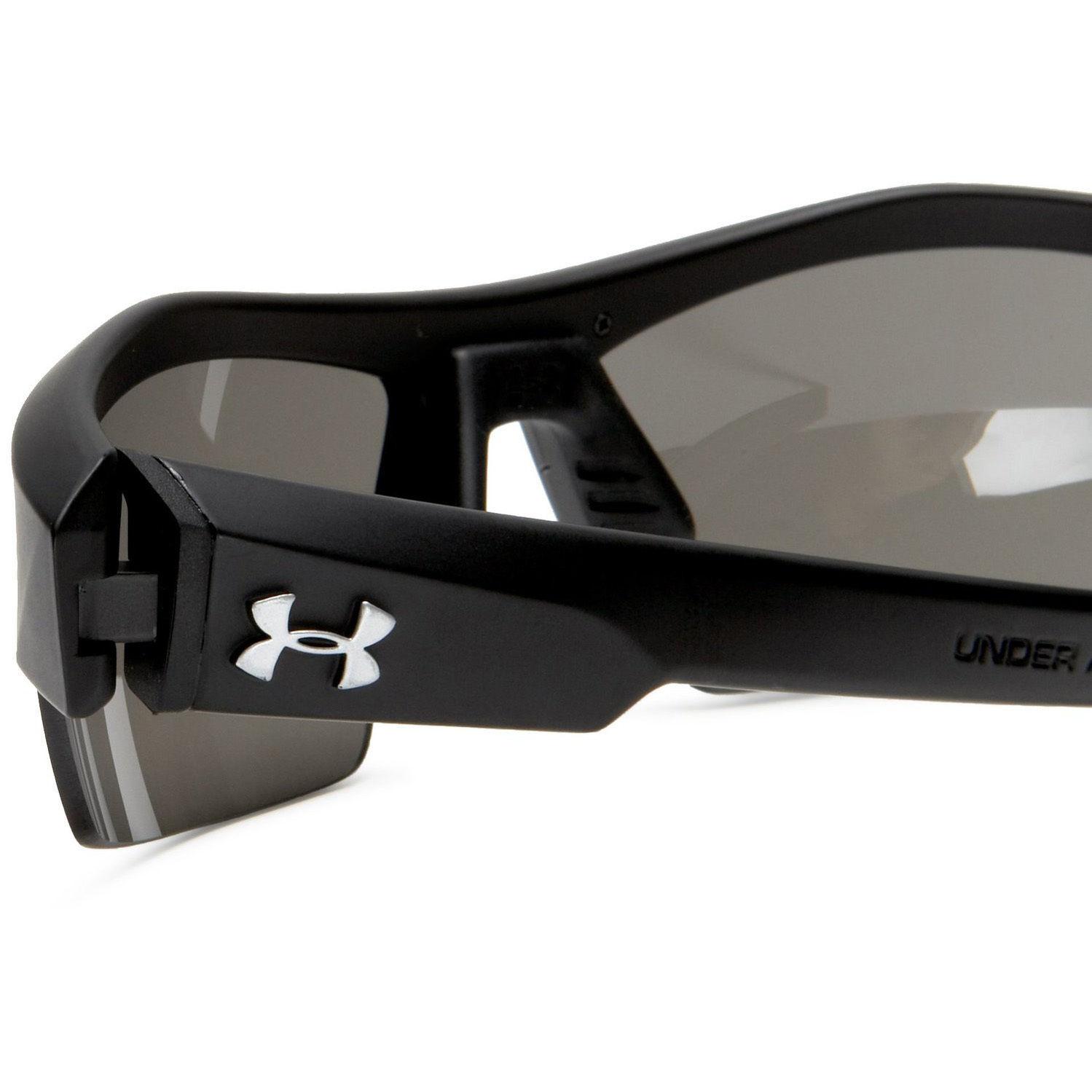 d1324ed659 Under Armour UA Igniter Satin Black Frame Gray Multi Lens Men s Sport  Sunglasses