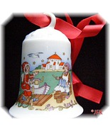 Ole Winther Christmas Bell 1994 Hutschenreuther... - $25.05