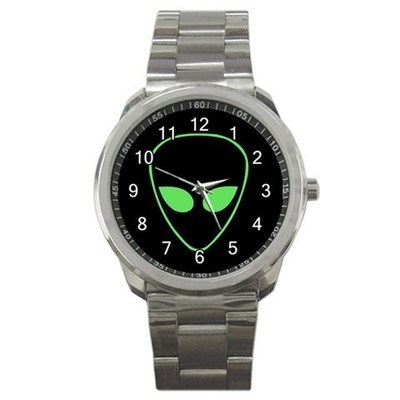 Alien Eyes Sport Metal Watch Gift model 15482986