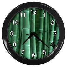 Bamboo Decorative Wall Clock (Black) Gift model 17266680 - $18.99