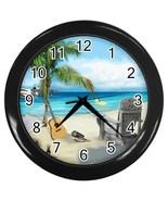 Beach Chair Decorative Wall Clock (Black) Gift model 15876816 - $18.99