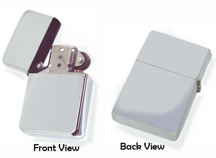 Brend New Heartagram Chrome Petrol Windproof Flip Top Lighter_ Gift 17938313