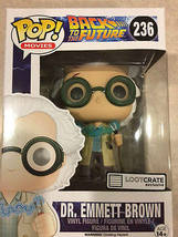 Pop Movie Back to the Future, Dr Emmett Brown Bobblehead - $20.00