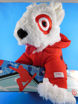 "Target Bullseye Bull Terrier Dog 2013 with 15"" Snow Board St. Judes 11"" ... - $10.39"
