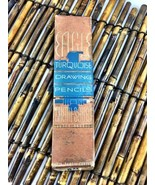 Vintage Box of Eagle Turquoise Drawing Pencils ... - $9.74