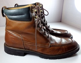 Mens Florsheim Limited Boots Brown Leather Lace Up size 12 D - $1.894,74 MXN